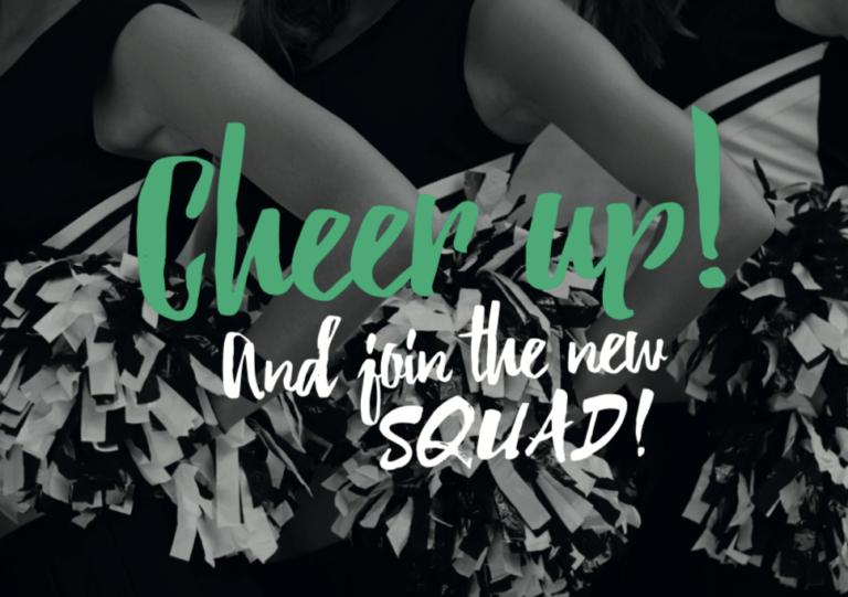 Cheerleader-squad