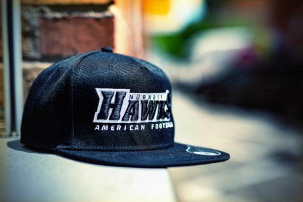 hawks cap schwarz
