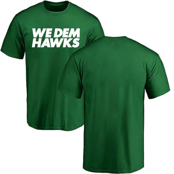 We dem Hawks - Shirt grün
