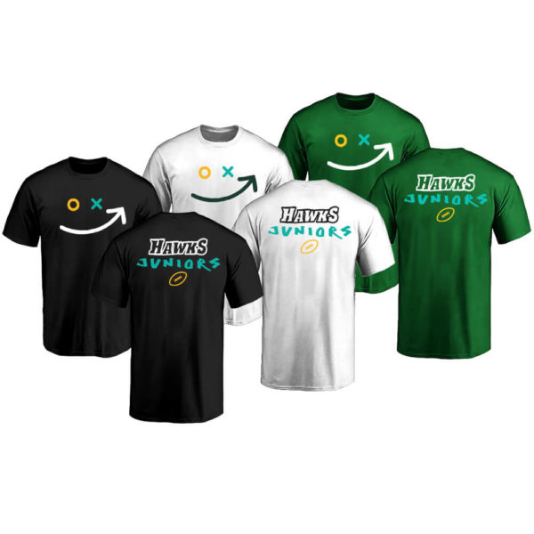 hawks juniors smiley T-Shirts