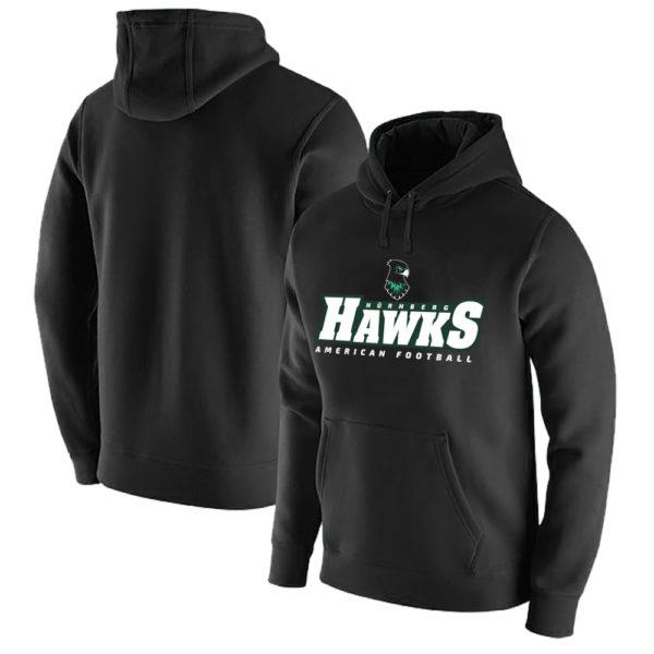 Classic Hawks Hoodie black