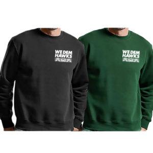 We dem Hawks - Simple Sweatshirts
