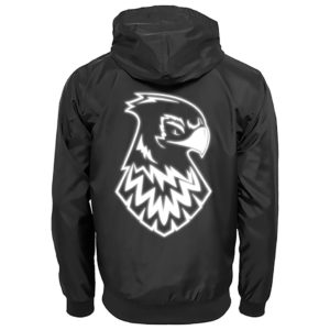 Hawks windbreaker jacke back