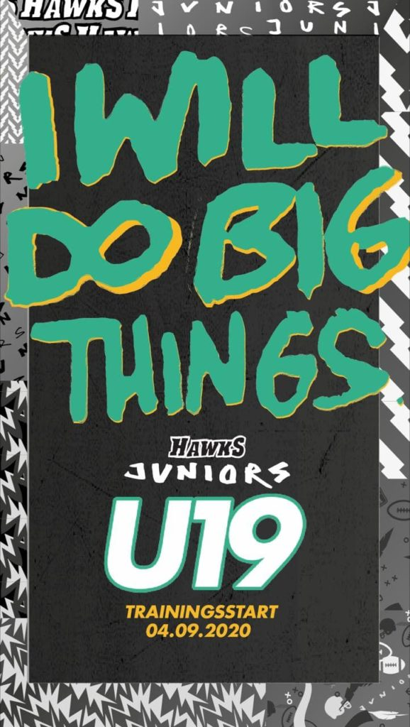 U19: I will do big things...