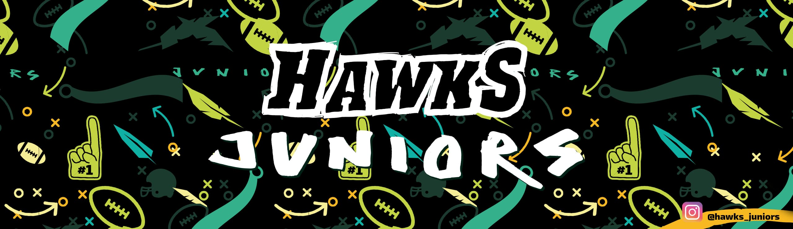 Hawks juniors u16 Flag