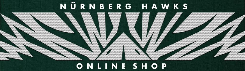 Header: onlineshop der Nürnberg hawks