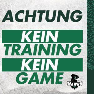 kein training & kein game