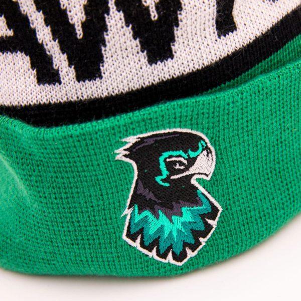 Hawks Beanies grün