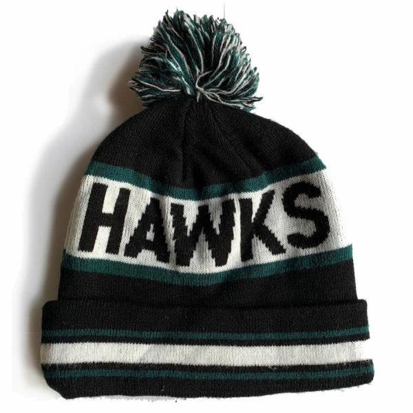 Hawks Beanies black Rückseite
