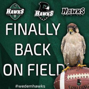 Back on field