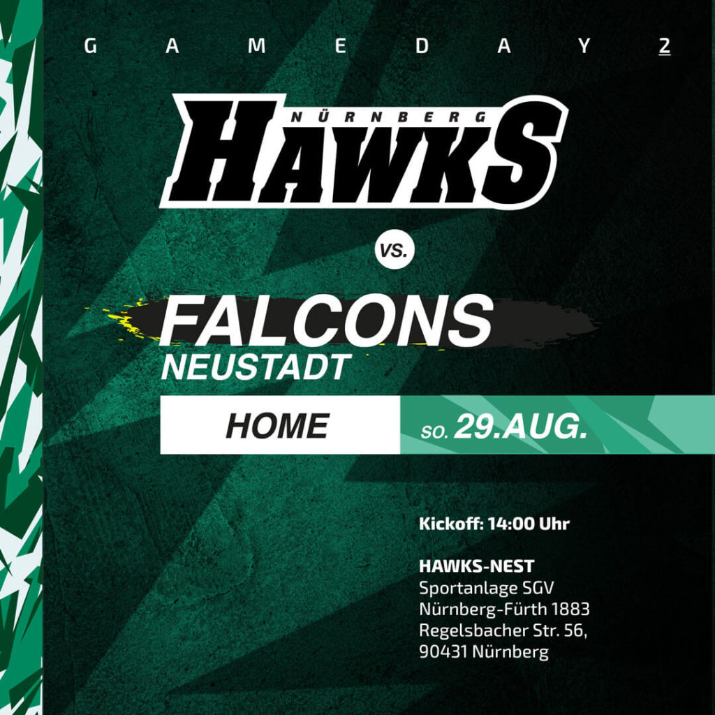 gameday Bavarian Bowl: Falcons @Home