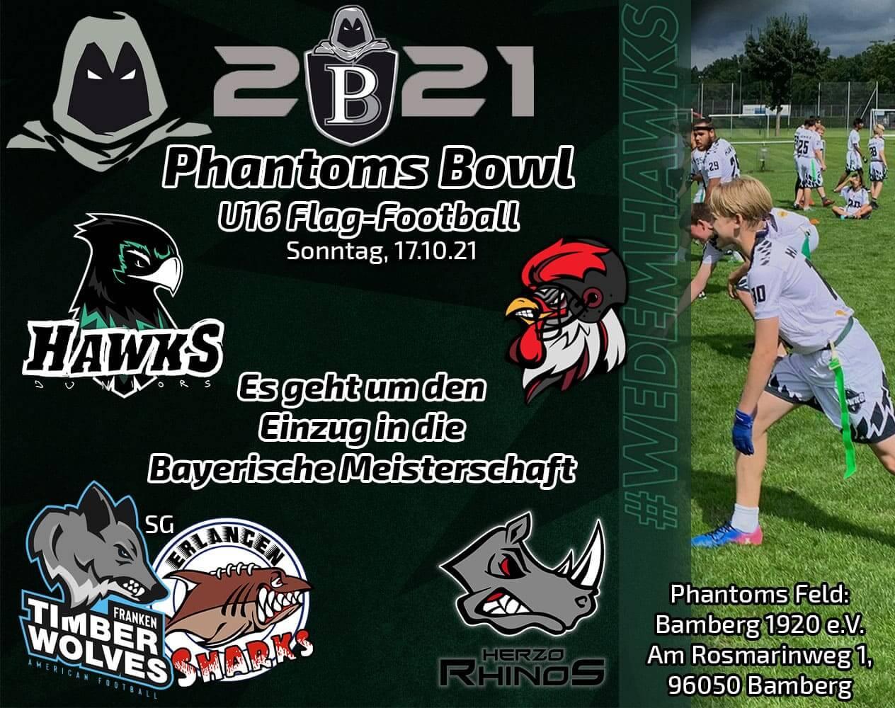 Hawks Juniors at Phantomsbowl