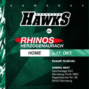 Rhinos @ Hawks 2021